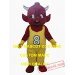 Little Red Bull Mascot Costume