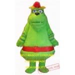 Green Monster Mascot Costume