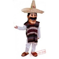 Mexican Man Mascot Costume