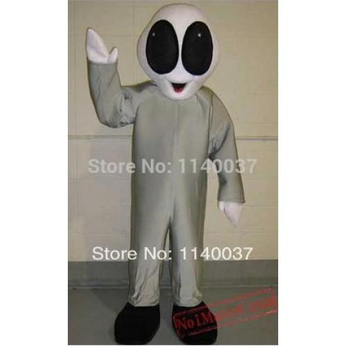 Grey Alien Mascot Costume