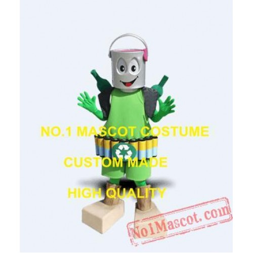 Hot Sale Cool Recycling Mascot Mascot Costume
