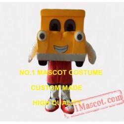 Popular Orange Car Mascot Costume