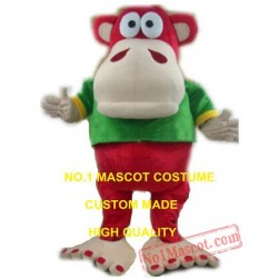 The Big Foot Monkey Gorilla Mascot Costume