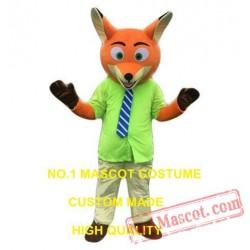 Popular Cartoon Character Fox Mascot Costume