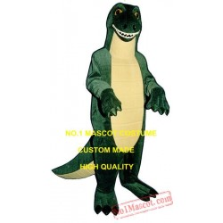 Friendly Tyrannosaurus Dinosaur Dragon Mascot Costume