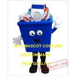 Anime Cosply Costume Blue Storage Box Mascot Costume