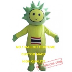 Durian Boy Mascot Costume
