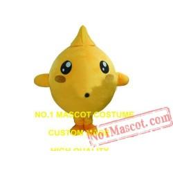 Cute Little Yellow Chicken Mascot Costume