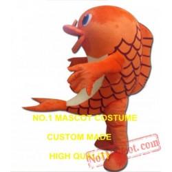 Realistic Carp Mascot Costume