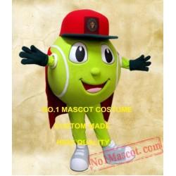 Sport Tennis Ball Mascot Costume