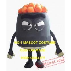 Puffed Rice Popcorn Mascot Costume