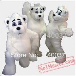 White Bears Mascot Costume