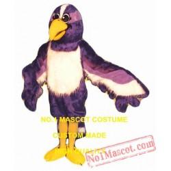 Purple Bird Mascot Costume