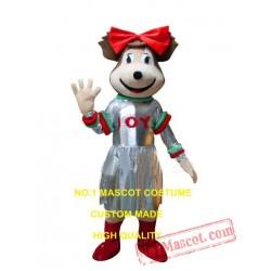 New Christmas Bear Mascot Costume