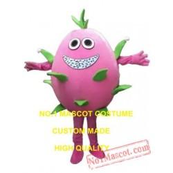 Pink Pitaya Mascot Costume