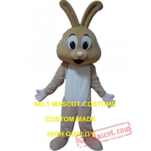 Cute Rabbit Mascot Costume