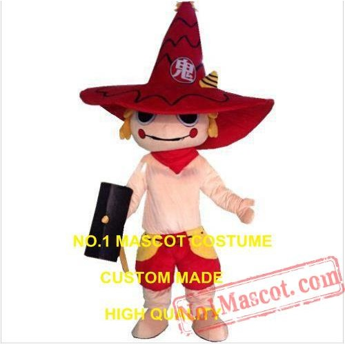 Halloween Devil Mascot Costume