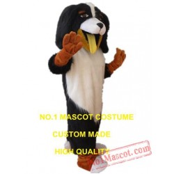 Plush Dog Mascot Costume