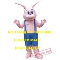 Pink Bunny Bugs Mascot Costume