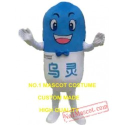 Pill Mascot Costume