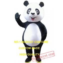 Cute Panda Mascot Costume