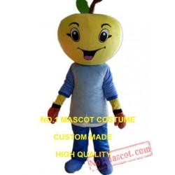 Orange Boy Mascot Costume