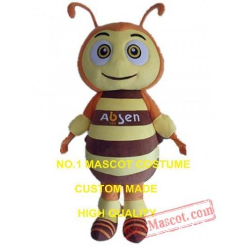 Big Eyes Bee Mascot Costume