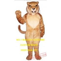 Snarling Wildcat Mascot Costume