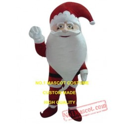 New Big Beard Christmas Santa Claus Mascot Costume