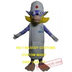 Dog Doctor Mascot Costume