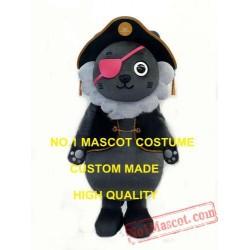 Cutie Pirate Wolf Baby Mascot Costume