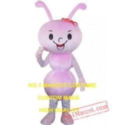 Pink Ant Mascot Costume