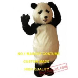 Plush Panda Mascot Costume