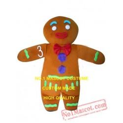 Ginger Bread Mascot Costume