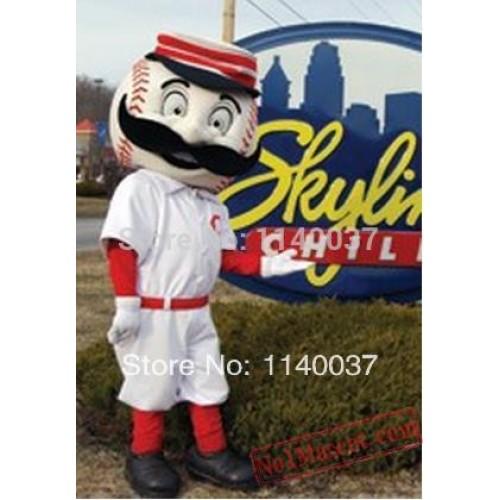 Baseball Man Mascot Costume