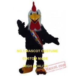 Plush Runner Rooster Mascot Costume