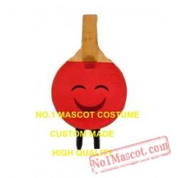Ping Pong Paddle Mascot Costume