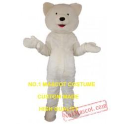 Cheap White Polar Bear Mascot Costume