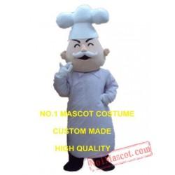 French Chef Mascot Costume