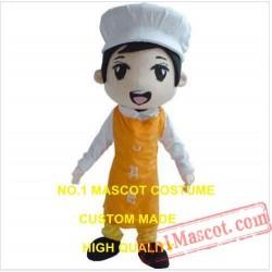 Cute Chef Mascot Costume