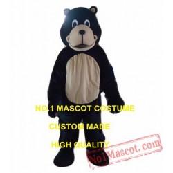 Blank Bear Mascot Costume