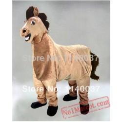 2 Person Horse Mascot Costume