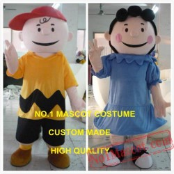 Charlie / Lucy Mascot Costume