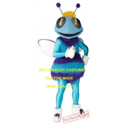 Anime Cosply Costumes Blue Hornet Mascot Costume
