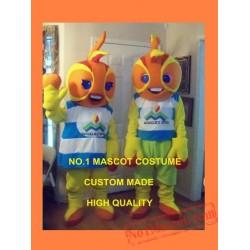 Anime Cosplay Costumes Fire Balls Mascot Costume