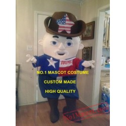 Classical Old Cowboy Mascot Costume