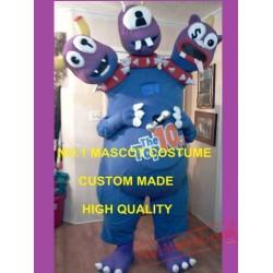 3 Headed Monster Mascot Costume