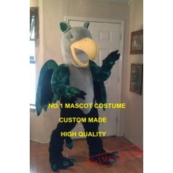 Professional Custom Anime Cosply Costumes Green Griffin Mascot Costume