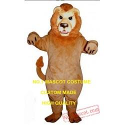 Mean Lion Mascot Costume