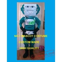 Advertising Costumes Fuel Man Mascot Costume